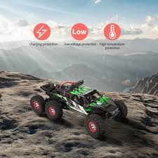 100 Brushless Rc Truck 112 Scale 24G 6 Wheel Drive RC Car 60 Kmh Offroad