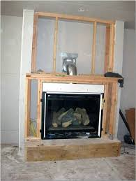 cost to install a fireplace cost to install gas fireplace insert