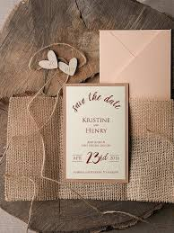 Save The Date Cards 20 Rustic Wood