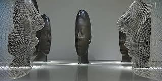 expo musee moderne jaume plensa et ses sculptures miroir au musée d moderne de