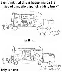 HolyJuan: What Happens Inside A Mobile Document Shredding Truck?