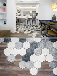 Tile Flooring Ideas For Kitchen by 19 Ideas For Using Hexagons In Interior Design And Architecture