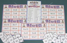 Times Tables Bingo