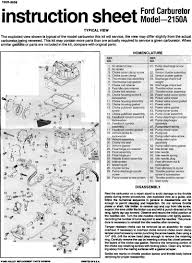 Ford F150 Carburetor Diagram - Find Wiring Diagram •