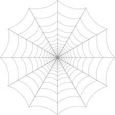 Spider Web Clipart Transparent ClipartXtras