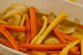 cuisiner panais accompagnement facile carottes et panais rôtis au four charles