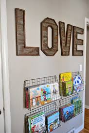 DIY Wall Letters And Initals Art
