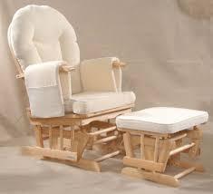 100 Reclining Rocking Chair Nursery Recliner Grey Glider Nursing