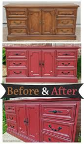Tool Box Dresser Black by Best 25 Red Painted Dressers Ideas Only On Pinterest Red