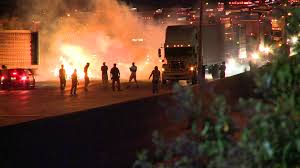 Wcnc.com | Protesters Start Overnight Fires On I-85, Loot Local ... Mebane News Abc11com Commission Oks Truck Stop At Exit 205 Local News Accidents Traffic For Greenville Anderson Spartanburg Sc Armed Robber Hits Brunswick Again Wtvrcom 1 Killed 5 Taken To Hospital In I85 Wreck Volving Tractor I 85 Big Trucks Roll Into The Iowa 80 Truckers Jamboree Welcome The Gdot Truck Stop Shootout Offduty Dallas Officer Kills Driver Cw33 Watch This Semitruck Short And Save A Childs Life