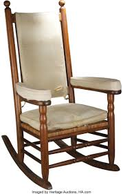 President John F. Kennedy's Personal Rocking Chair From His ... Fding The Value Of A Murphy Rocking Chair Thriftyfun Black Classic Americana Style Windsor Rocker Famous For His Sam Maloof Made Fniture That Vintage Lazyboy Wooden Recliner Unique Piece Mission History And Designs Homesfeed Early 20th Century Chairs 57 For Sale At 1stdibs How To Make A Fs Woodworking 10 Best Rocking Chairs The Ipdent Best Cushions 2018 Restoring An Old Armless Nurssewing Collectors Weekly Reviews Buying Guide August 2019