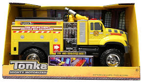 Tonka Mighty Motorized YELLOW Tough Cab Fire Engine Pumper Truck ... Tonka Mighty Motorized Fire Engine Vehicle Toys For Kids Set To Yellow Tough Cab Engine Pumper Truck Titans Youtube Funrise Classics Steel Buy Online At The Nile Fleet Goliath Games Uk Rubbish Site Toy Trucks For Kids Cherry Picker Online Universe Toughest Minis Ape Nz Zulily Amazoncom With Lights And Hyper Garbage