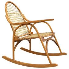 Charles Stickley Rocking Chair by Vermont Tubbs Snowshoe Rocking Chair At 1stdibs