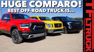 100 Best Off Road Trucks 2019 Gold Winch Truck Competition Which Pickup Is The