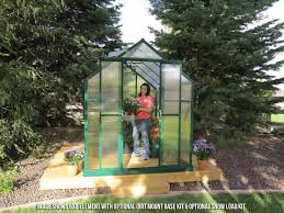 6 X 12 Shed Kit by Grandio Element 6x12 Greenhouse Premium Package Epic Greenhouses