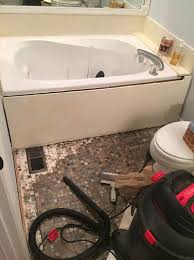 Tiling A Bathtub Skirt by Master Bath Tub Skirt U2013 Those Littles
