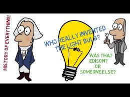 who really invented the light bulb history of everything