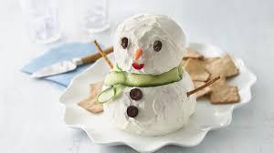 bonhomme de neige au fromage à préparer d avance vivre