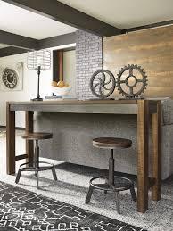 Torjin Long Counter Table 2 Stools