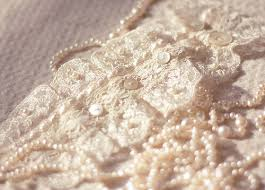 Collection Of 10 Lace And Pearls Vintage