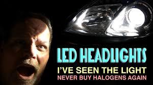 led vs hid vs halogen for headlights and fog lights