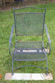 green metal patio chairs how to refinish rusted patio furniture patio furniture makeover