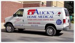 Alick s Home Medical Equipment Our Services