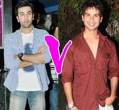 Ranbir or Shahid Who do you wanna see in a love story