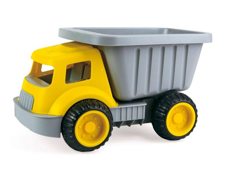 Hape Load and Tote Dump Truck Toy - Yellow