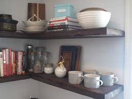 Floating Shelves From Reclaimed Wood Farmhouse