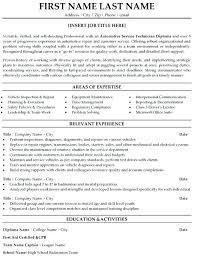Resume For Auto Mechanic Objective