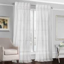 120 Inch Long Sheer Curtain Panels by Buy Sheer Window Curtains Panels From Bed Bath U0026 Beyond