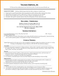 Sample Resume For Newly Graduated Teacher Refrence Nursing Samples New Grad Examples 2017 Graduate Cna