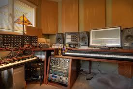 Home Music Studio Design Wooden Ideas