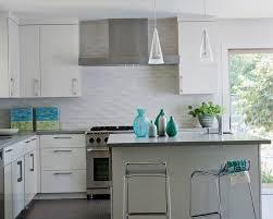 Backsplash Ideas For White Kitchens by Kitchen Decoration Ideas Interior Fetching Grey Ceramic Mosaic