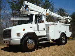 2002 Freightliner 46 ' Lift All Material Handling Fl70 Bucket Truck ... Bucket Trucks 400s Telescopic Boom Lift Jlg 1998 Gmc C7500 Liftall Lan65 Truck For Sale Youtube Intertional 4300 2007 Tc7c042 Material Handling Wliftall Lom1055 Freightliner M2 4x4 Lanhd752e 80 A Hydraulic Lift Bucket Truck On The Street In Vitebsk Belarus Ford F750 For Sale Heartland Power Cooperative Aerial 3928tgh By Van Ladder Video W Forestry And Body