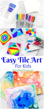 Tile Art For Kids That Everyone Will Enjoy Easy Sharpie