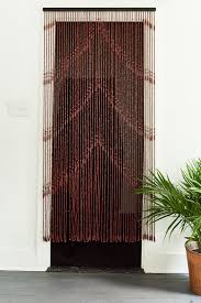Doorway Beaded Curtains Wood by Hanging Door Curtains Home Gift Earthbound Trading Co