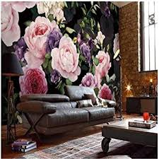aufkleber wandaufkleber hintergrundbildbenutzerdefinierte fototapete europäischen mode blumentapete persönlichkeit wohnzimmer tv hintergrundbild