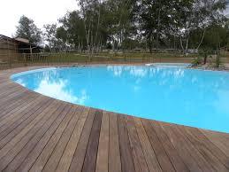 margelle piscine en bois réalisations brettes piscine terrasse bois bordeaux