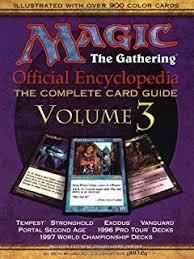 mtg world chionship decks 1997 magic the gathering official encyclopedia volume 4