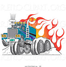 Retro Clipart Of A Tough Big Rig Hot Rod Semi Truck Flaming And ... Show Us Your Trucks Goodguys Hot News Pulrprofiles Db Rod Semis 855ci Cummins Peterbilt Rat At Piston Powered Autorama Retro Clipart Of A Tough Big Rig Semi Truck Flaming And Features Fenderless Rod Need To See Them Page 6 1941 Gmc For Sale Custom Pinterest 12v71 Detroit Diesel Engine Truckin Bad Attitude Stands Out Hotrod Hotline