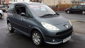 Used Peugeot 1007 for Sale RAC Cars