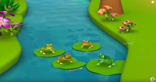 100 King Of The Frogs Who Wished For A 3D Animated Hindi Moral Stories Kids