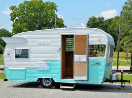 100 Restored Travel Trailer Camping Free Stock Photo Public Domain