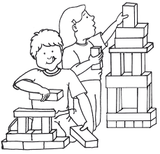 Play Toys Clipart Black And White ClipartXtras