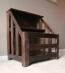 ana white kendra storage console aka bookshelf toybox diy