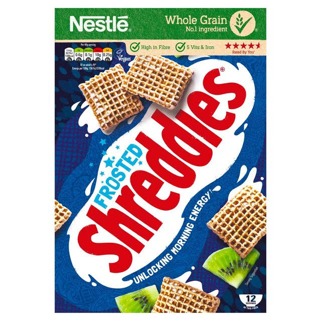 Nestle Frosted Shreddies Cereal - 500g