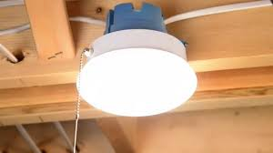 eti solid state lighting 7 spin light with pull chain install