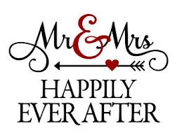 Calligraphy Clipart Mr Mrs 2